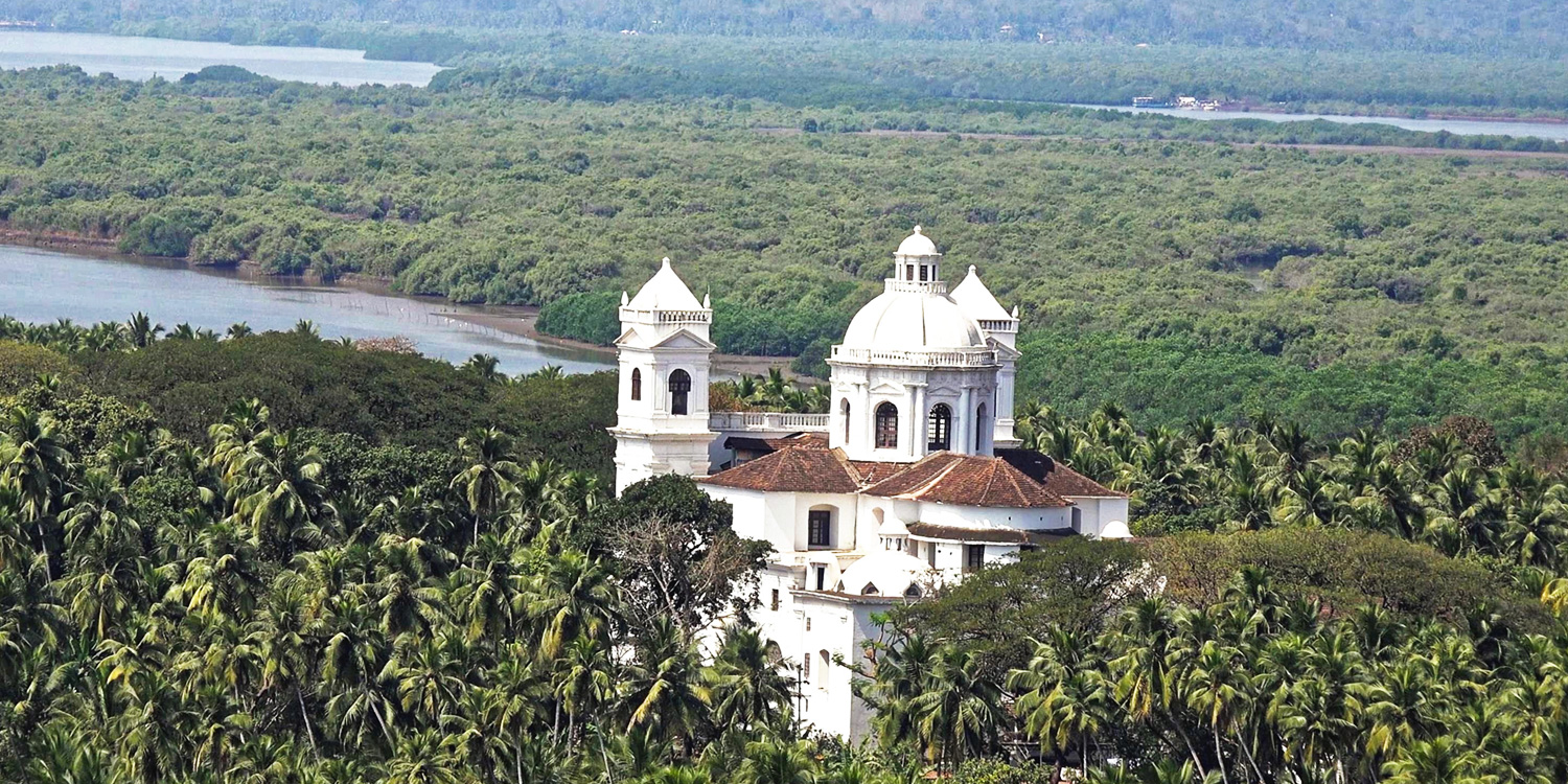 Old Goa, the former capital of Portuguese India - Beyond the Taj, Old Goa