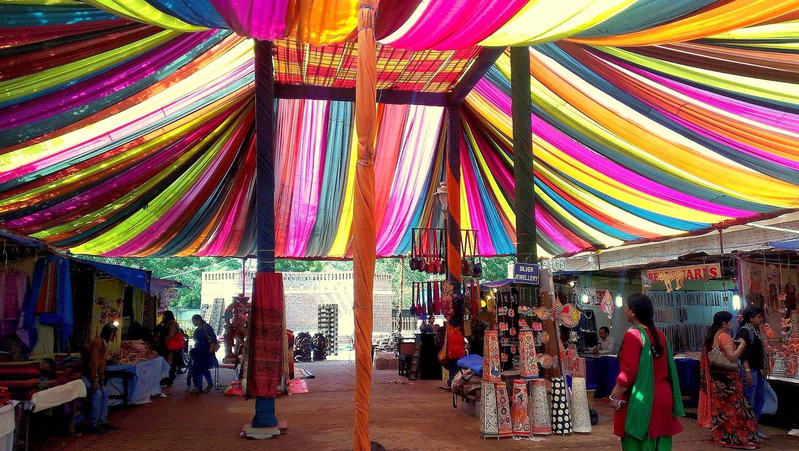Shopping at Dilli Haat